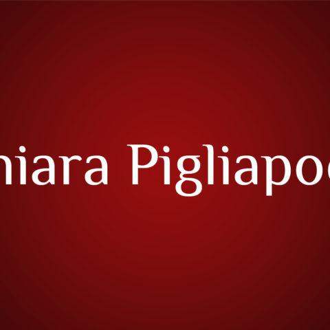 CHIARA PIGLIAPOCO
